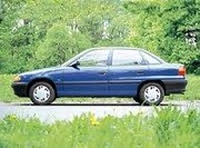 Передний бампер Opel Astra 1997